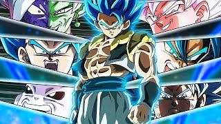 NEW Limit Breaking Realm of Gods Team! Dragon Ball Z Dokkan Battle