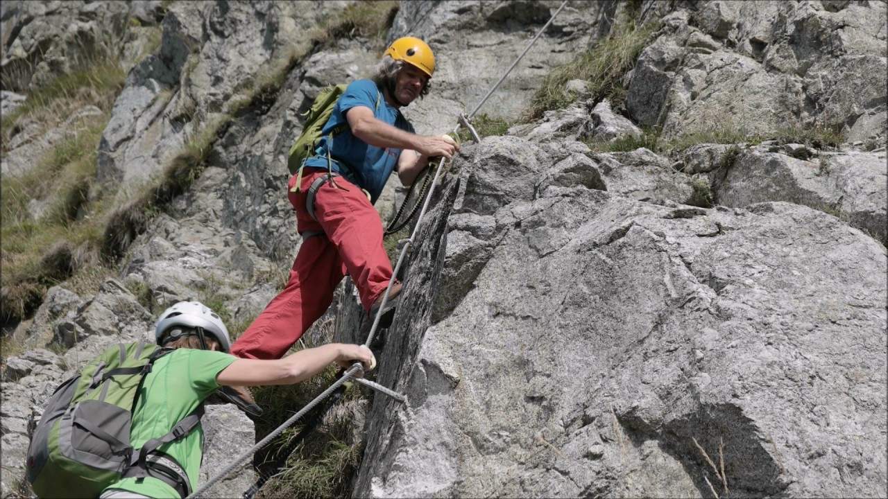 Klettersteig Ifinger : Ifinger heini holzer klettersteig alpenverein südtirol bozen