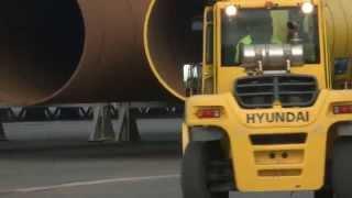 Hystackers | Hyundai 250D-7E Forklift