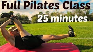 FULL 25 Minute Pilates Abs Class | Total Body Core Workout #pilatesworkout