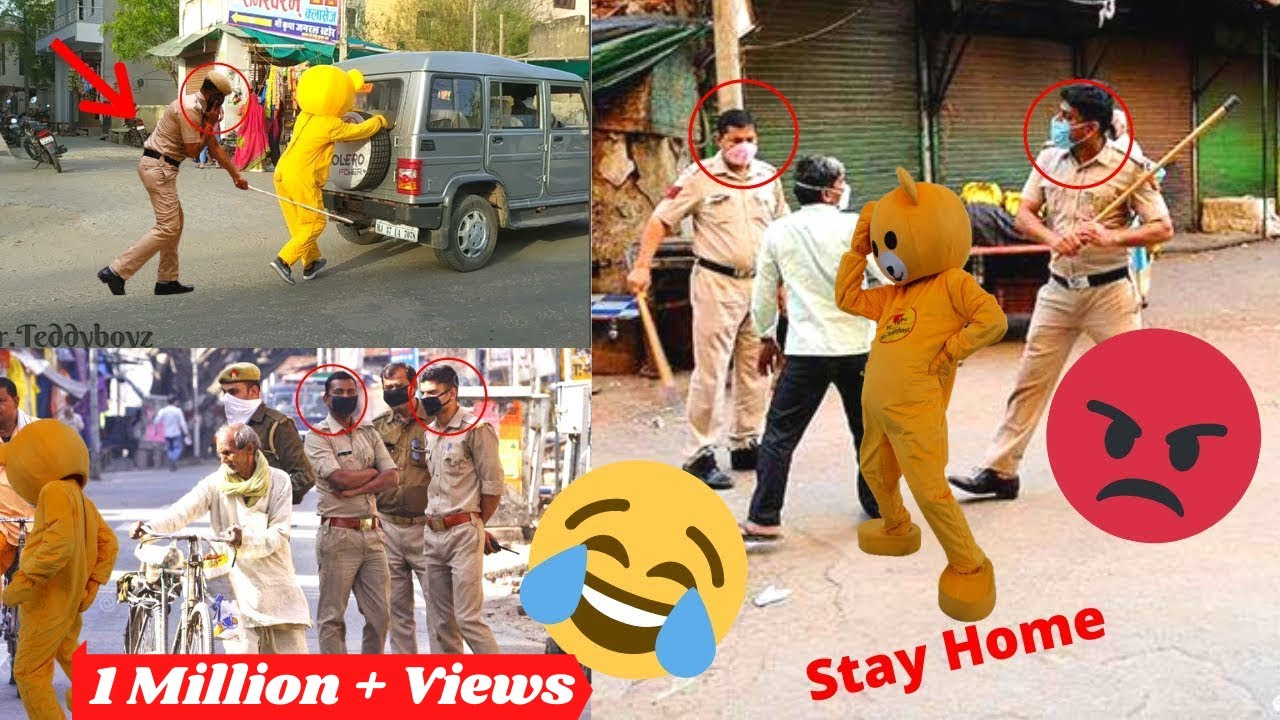 Try Not To Laugh Police Prank | Fuuny Video | Prank In India | Comedy fun Video