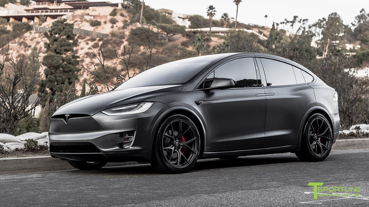 Tesla Model X Fully Customized With Paint Protection Film