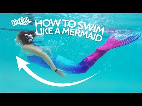 how-to-swim-like-a-mermaid-|-fin-fun-mermaid-tails