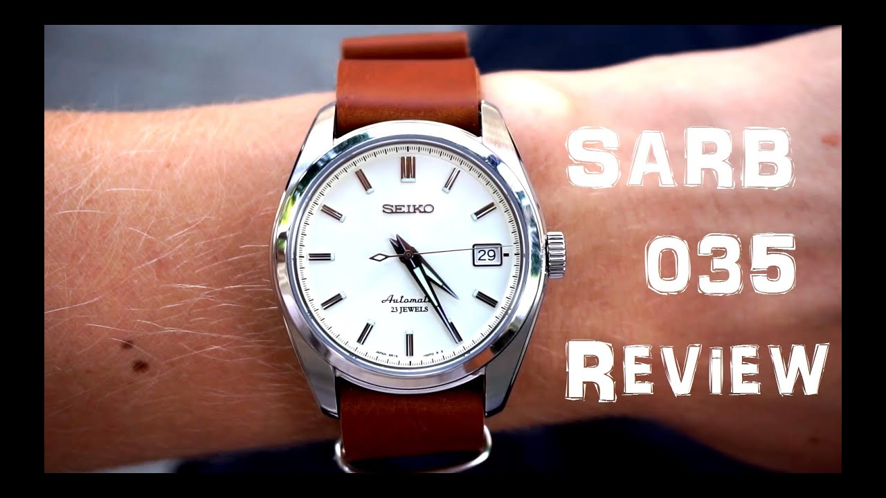Seiko Sarb035 Watch Review Youtube