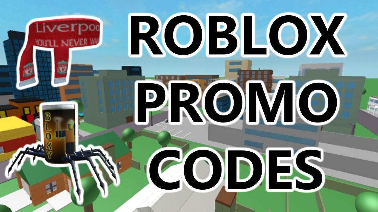 PROMO CODES | ROBLOX