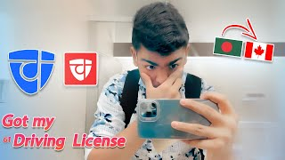 GOT G1 DRIVING LICENSE DURING COVID 19 In Canada