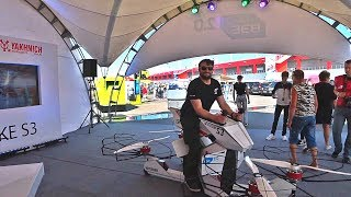 Hoverbike Hoversurf S3. Интервью с представителями разработчика.