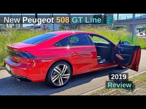 New Peugeot 508 GT Line Sedan 2019 Review Interior Exterior