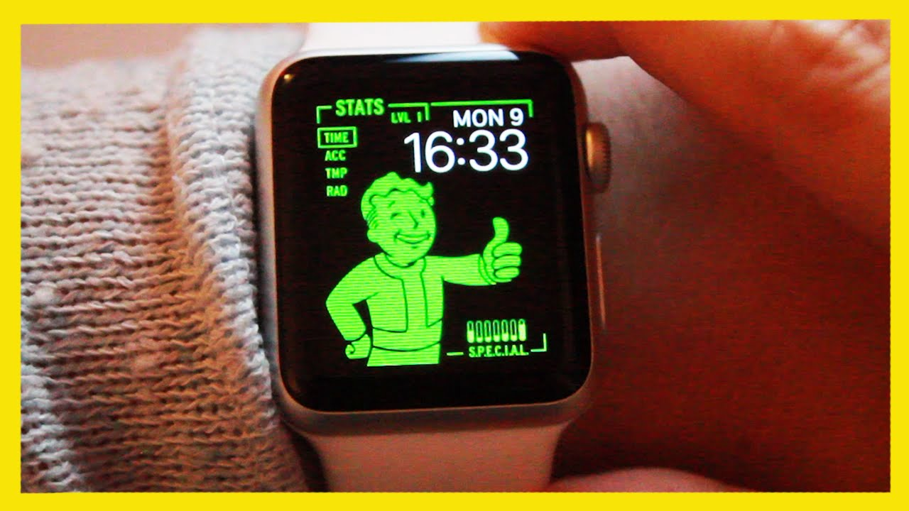 How to turn your Apple Watch into a Fallout Pip-Boy!