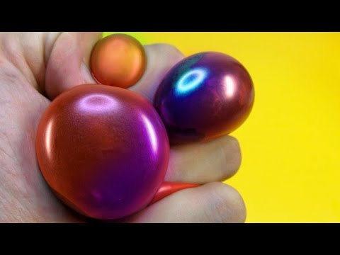 DIY SLIME STRESS BALL - SQUISHY WUBBLE BALLOON PUTTY BUBBLE - Elieoops