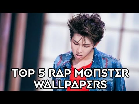 Top 5   RAP MONSTER   wallpaper   link
