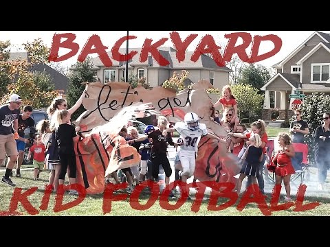 Best Little Kids Backyard Football Game 2    HD