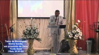 Pregação evangélica - IEUA - Minha família, um propósito de Deus