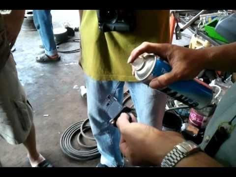 Testing Mass Air Flow Sensor >> Mass Air Flow Sensor Cleaning By NavaraClub-Thai - YouTube