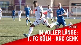 In VOLLER Länge: 1. FC Köln – KRC Genk