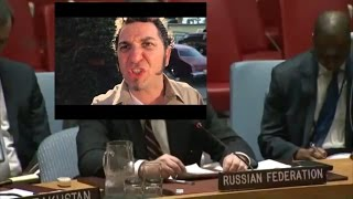 "Владимир Сафронков в ООН: ""Я сам тебя трахну"" 12.04.17"