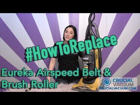 Eureka Airspeed Belt & Brush Roller Replacement: Part # 63391-4 & # 61110B