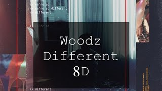 Gambar cover Woodz Different 8D 🎧