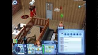 Sims 3 completely naked glitch!!