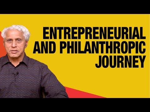 Dr. Romesh Wadhwani on his Journey of an Entrepreneur and Philanthropist