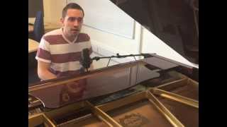 Song For Whoever (piano cover)  - Darren Rampton