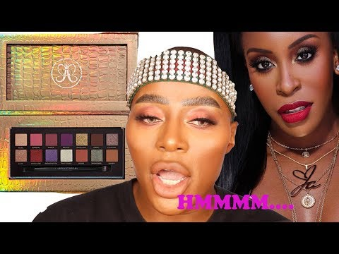 Jackie Aina x ABH Palette Review! SIS CAN WE TALK? |ThePlasticBoy thumbnail