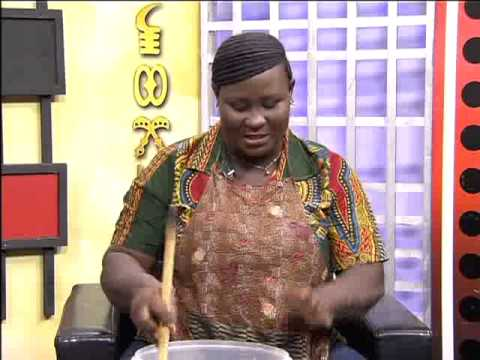 Preparing Homemade Liquid Soap Part II - Afisem on Adom TV (