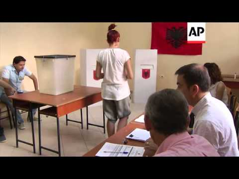 Voting under way in elections that could affect country's EU ambitions