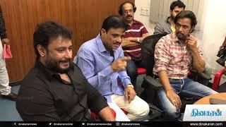Kurukshetra Tamil Movie Press Meet   Arjun   Darshan   Sneha   3D Movie   Dinakaran News Video