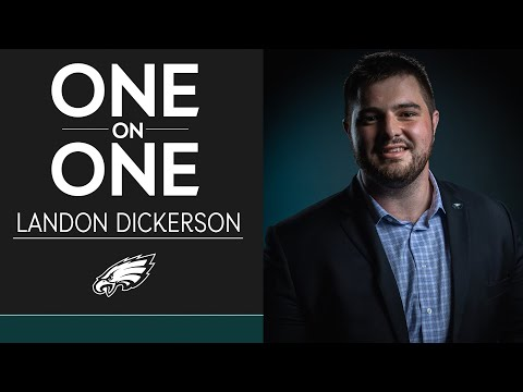 Get to Know Second-Round Pick Landon Dickerson | Eagles One-On-One