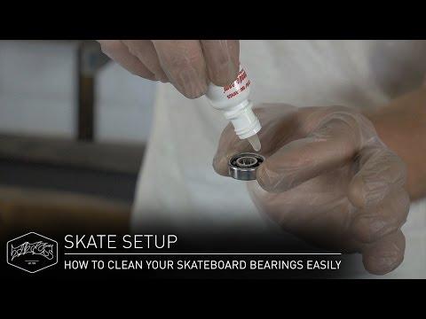 HOW TO CLEAN YOUR SKATEBOARD BEARINGS EASILY – Skate Setup | Titus