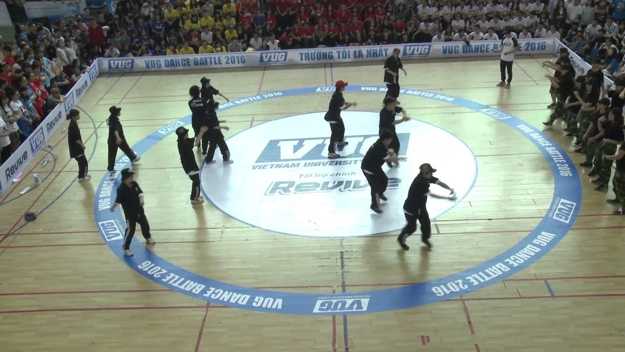 [VUG – HN 2016] Dance Battle  – Match #11 – ĐH Y Hà Nội vs HV Ngoại Giao