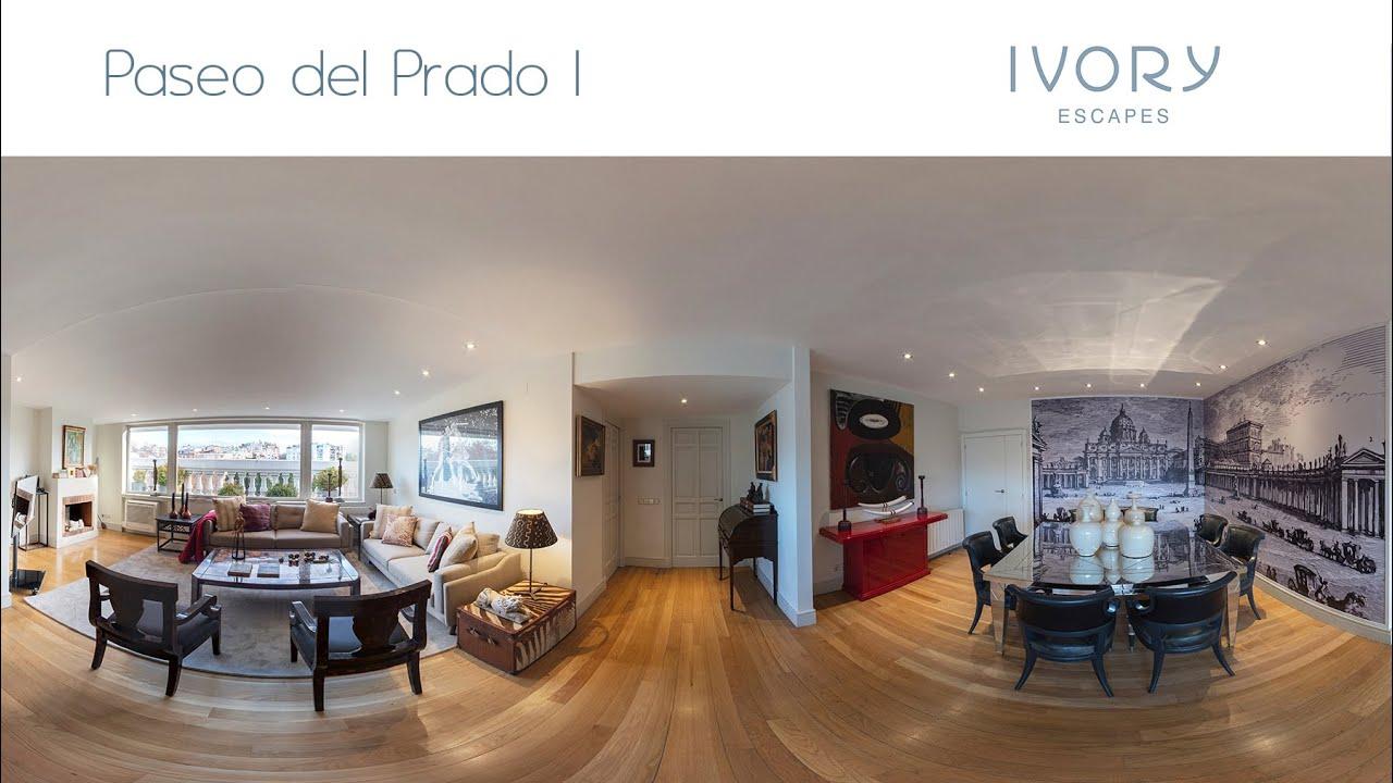 Visita Virtual ático Con Terraza Paseo Del Prado I