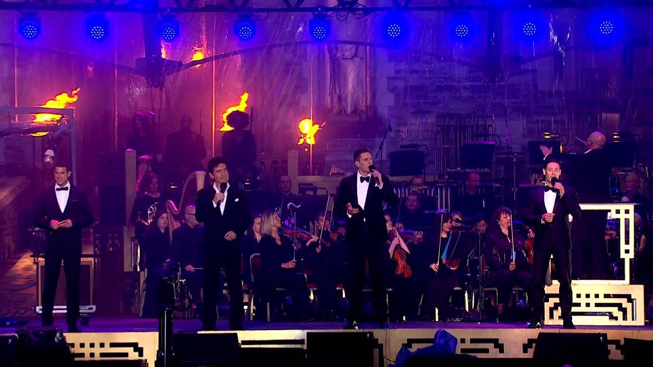 Il divo bbc1 amazing grace 2014 07 19 youtube - Il divo amazing grace video ...