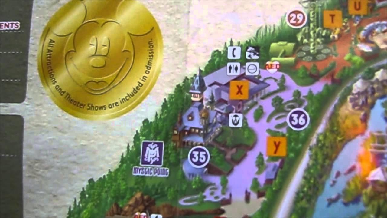 Maps Hong Kong Disneyland Version Youtube