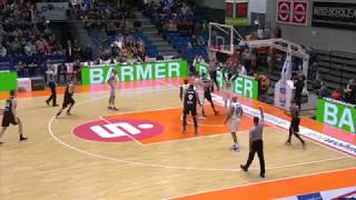 Robin Christen Highlights - Rasta Vechta - BBL 2018-19