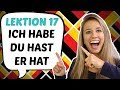 GERMAN LESSON 31: USEFUL German verbs: TO HAVE (