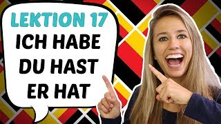 "GERMAN LESSON 17: USEFUL German verbs: TO HAVE (""haben"")"