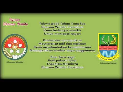 Hymne Dharma Wanita Kabupaten Bekasi dengan Lirik