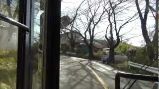 神奈中バス 平35 平塚駅北口→湘南平 【前面展望】