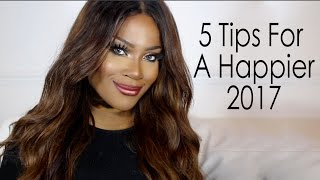PEP TALK | 5 Tips For A Happier New Year