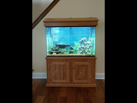 Woodworking : DIY Fish Tank Stand / Aquarium Stand