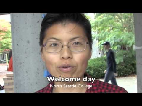 """""""Welcome Day"""" North Seattle College by Public Interest Issues Show"""