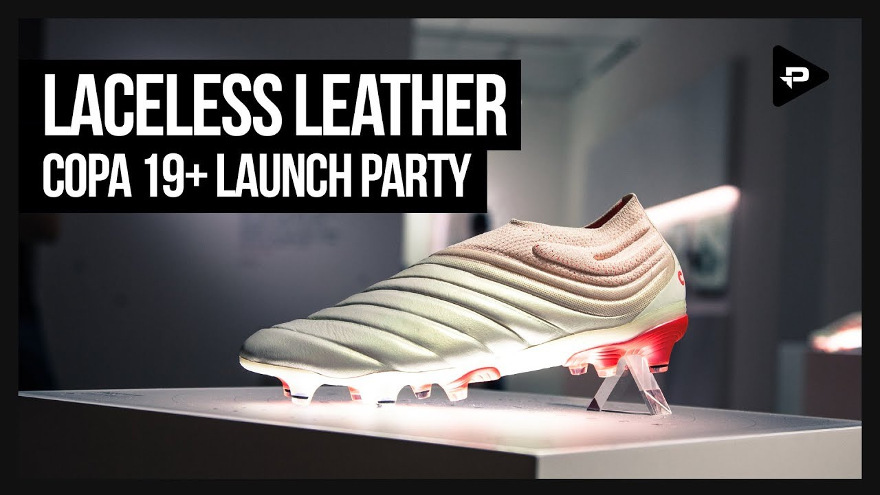 ADIDAS LAUNCH LACELESS LEATHER COPA 19+ IN MILAN