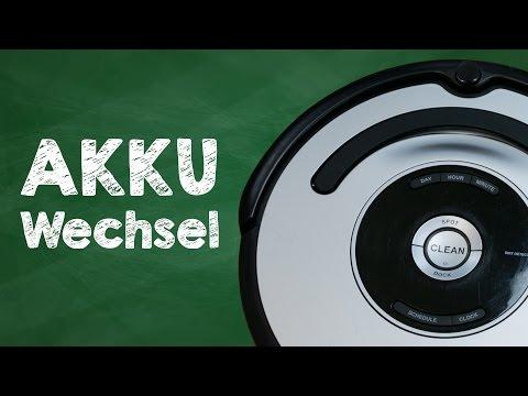 irobot-roomba-581-usw.-akku-austauschen-/-wechseln---tutorial-deutsch