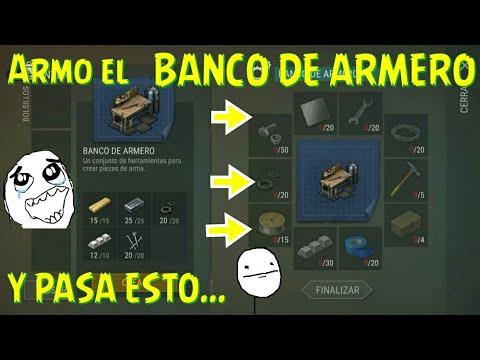Armo el BANCO DEL ARMERO y me encuentro una desepcion Last Day on Earth Survival