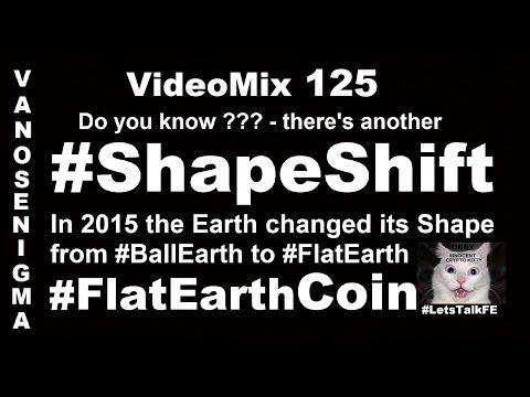 V 125 ShapeShift Crypto Currency P2P Blockchain Flat Earth Coin Bitcoin Money Trade Market Dash