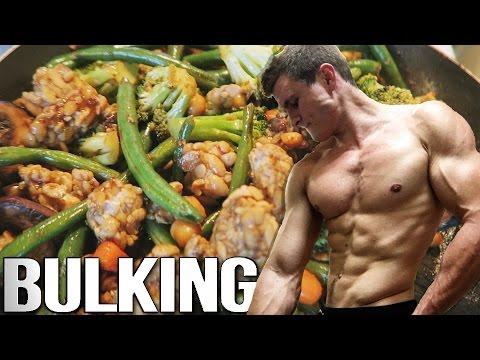 Full Day Of Vegan Meals | RETURN OF THE BODYBUILDING BULK!