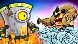 ЧЕЙ БОСС КРУЧЕ? Битва АРМИЙ в Tower Conquest Игра про БОИ и СРАЖЕНИЯ на АРЕНЕ от Cool GAMES
