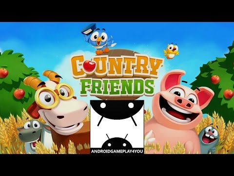 Country Friends Android GamePlay Trailer (1080p) [Game For Kids]